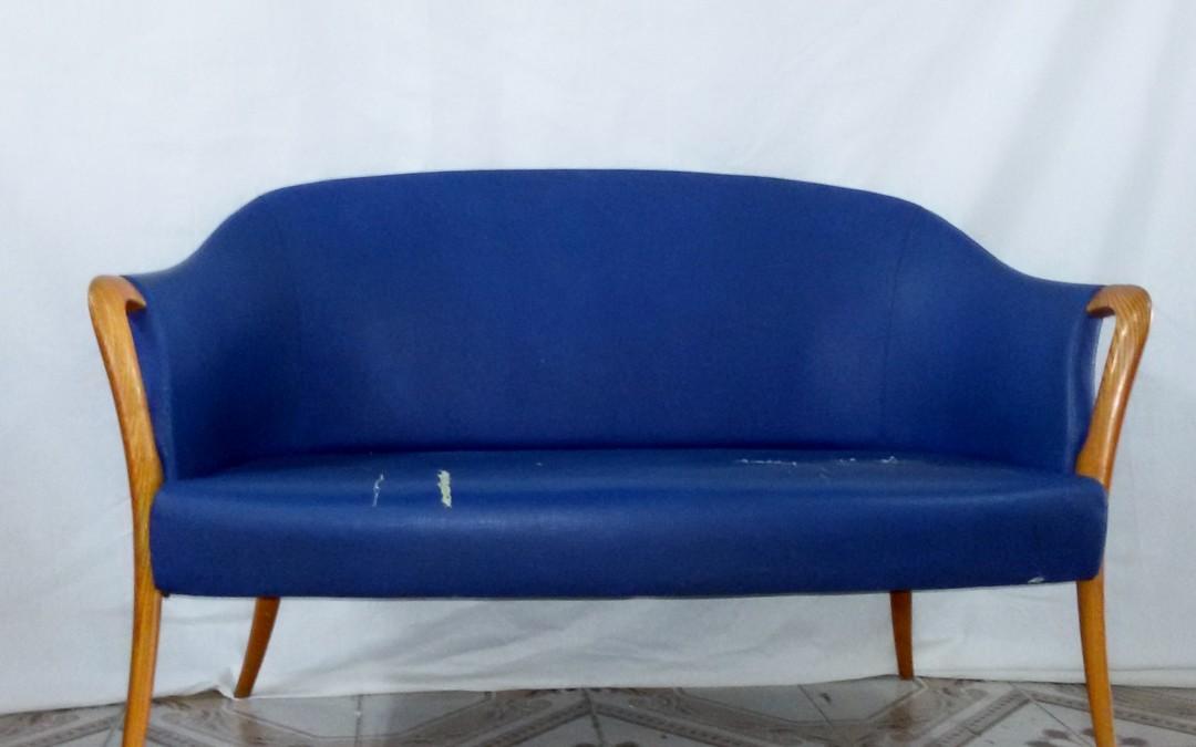 Divano due posti Design style  Ico Parisi anni 60 / SOLD
