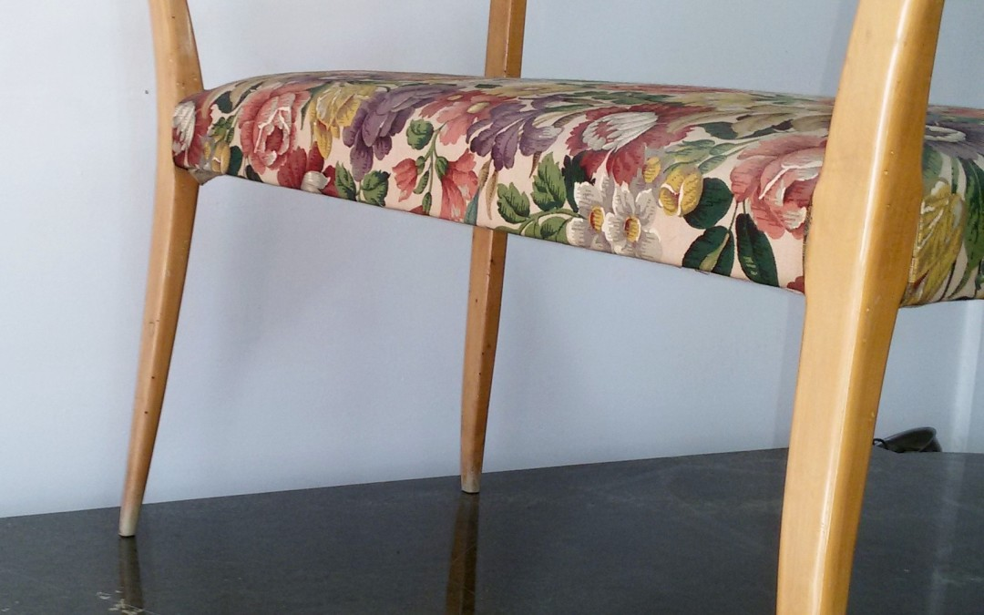 DIVANO SOFA chairs DUE POSTI ANNI 50