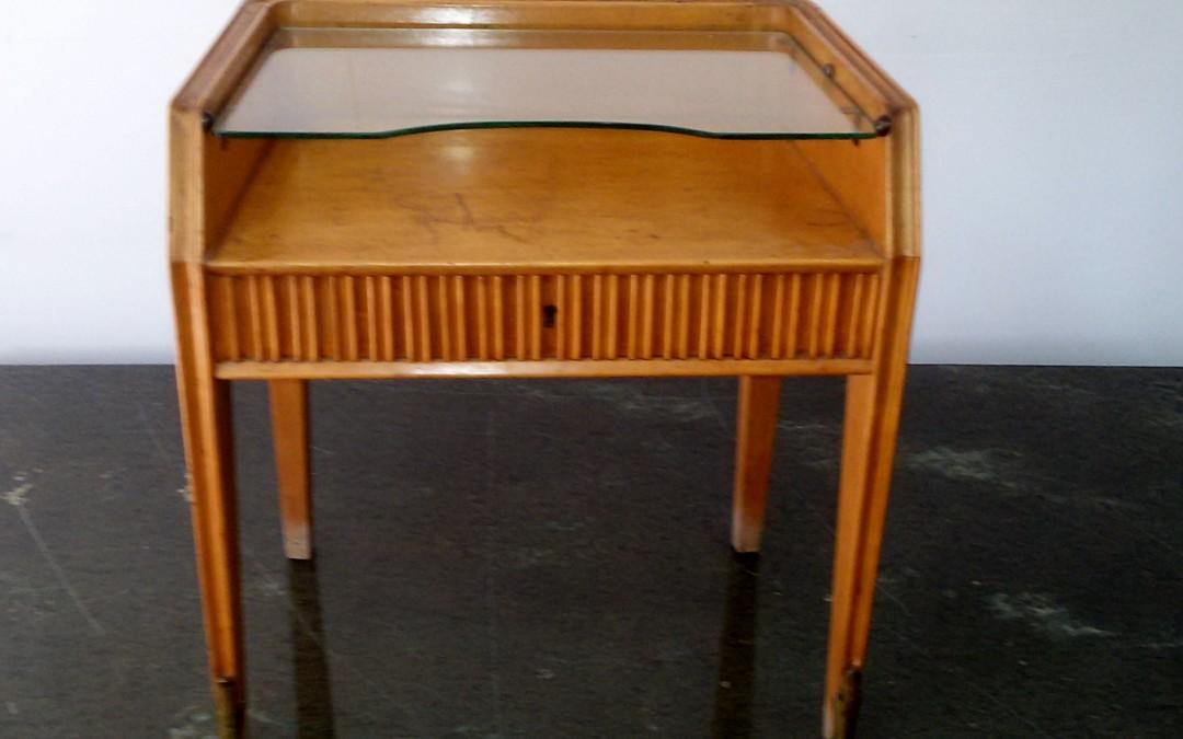 tavolino porta telefono anni 50
