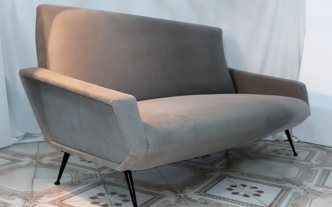 divano sofa,in stoffa Armchairs,chaises,Design,Marco Zanuso anni 60 / SOLD