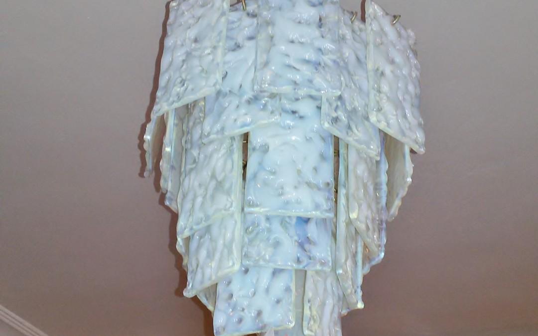 Lampadario,chandelier,design anni 70 Murano
