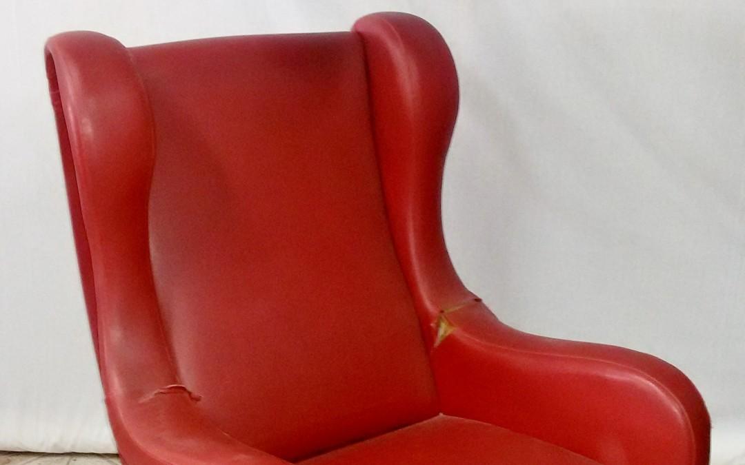 "poltrona,Chair armchair ""Senior""design Marco Zanuso per ARFLEX,1951"