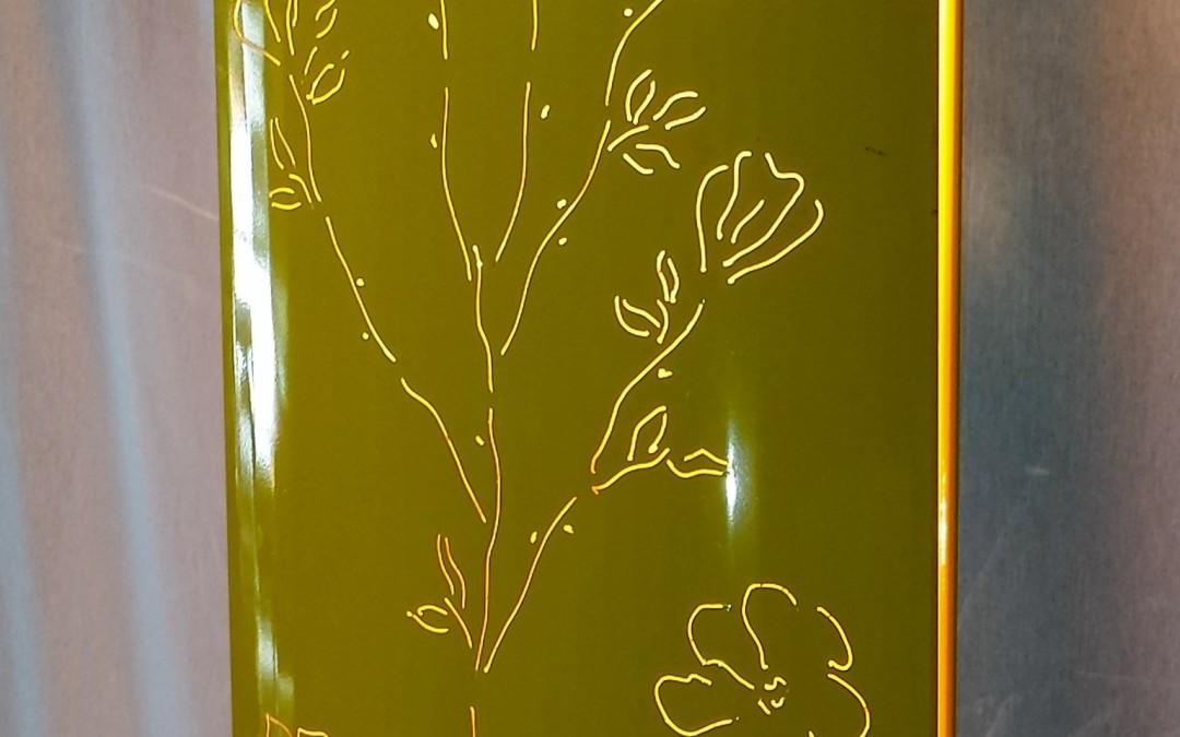 piantana lampada da terra cm h.150 anni 70 vintage
