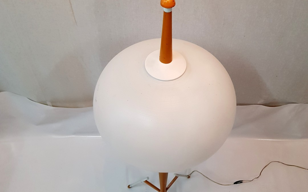 Lampada da terra rara floor lamp Tripode Stilnovo Age 1950