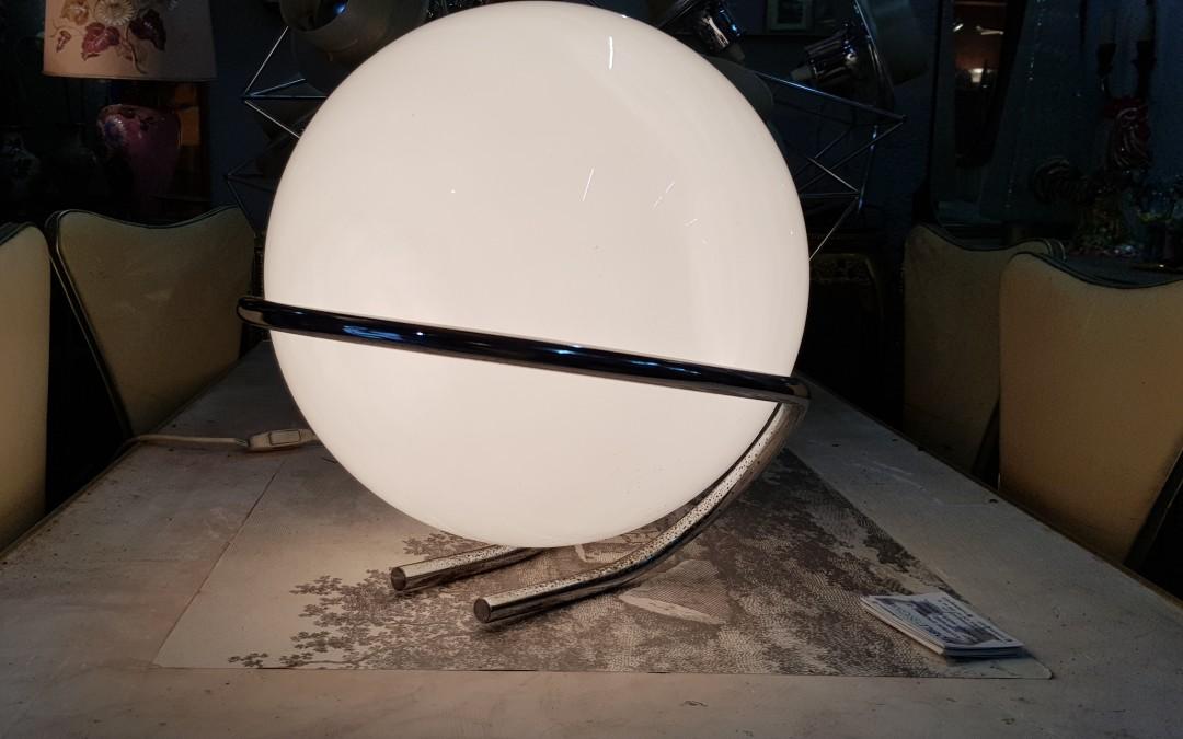 Lampada lamps lustre da tavolo design by Gino Serfatti 1960