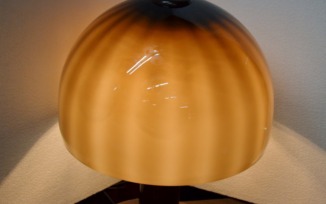 Table Lamp Design murano vistosi anni 60