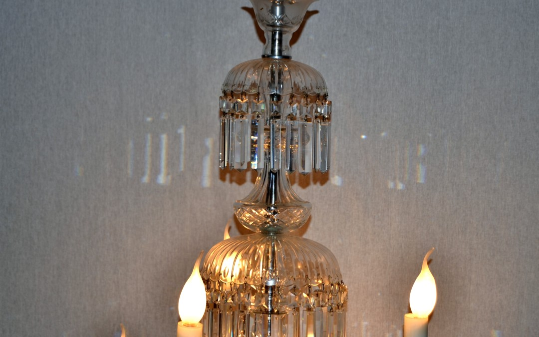 Grande Lampadario Chandelier in cristallo di Baccarat produzione, Francia 19 th