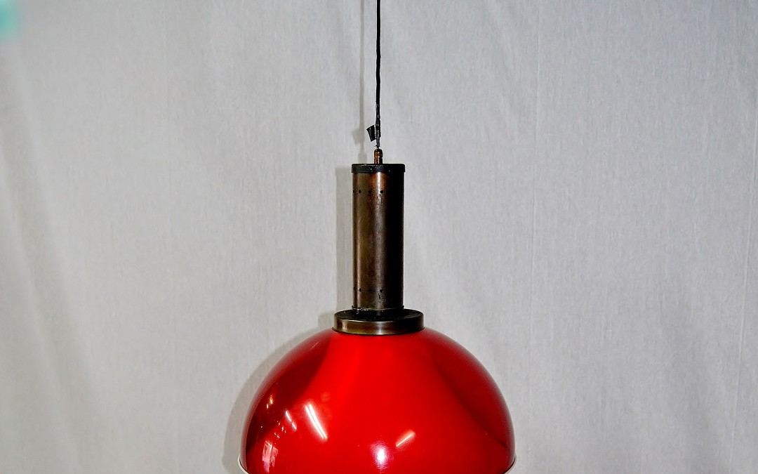 LAMPADA LAMP A SOSPENSIONE, STILUX, MILANO 1950 /60
