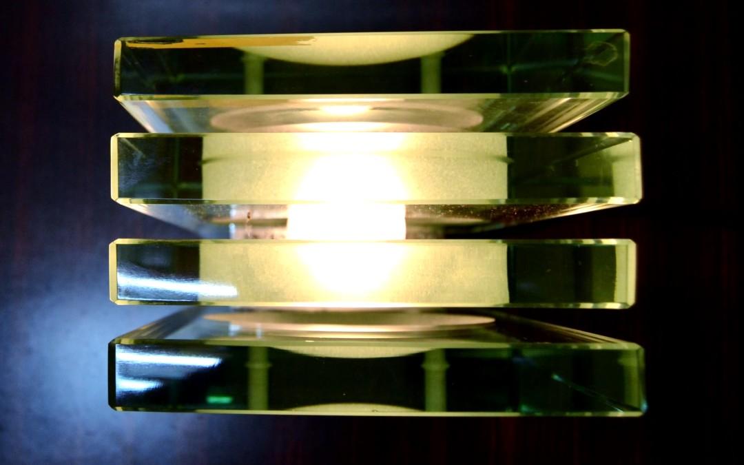 Lampada da tavolo Max Ingrand per Fontana Arte, Italia verso il 1960