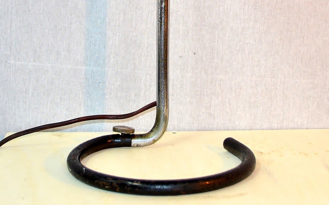 "Lampada lamp, da tavolo design BORMANN Heinrich Siegfried, prod. Kandem"" ca 1932"