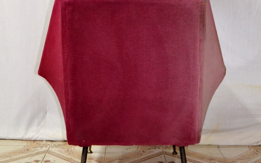 armchair 1950 - 1959 design  Gio Ponti Italia.