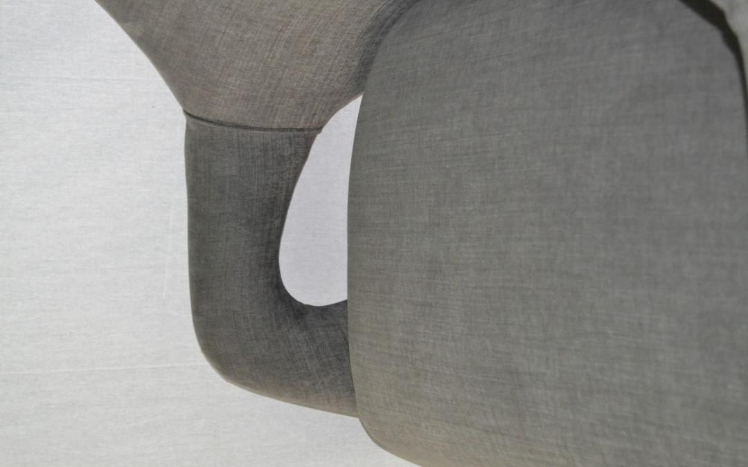 Divano,sofa restaurato design style Gio Ponti 1950 / 60 modernariato