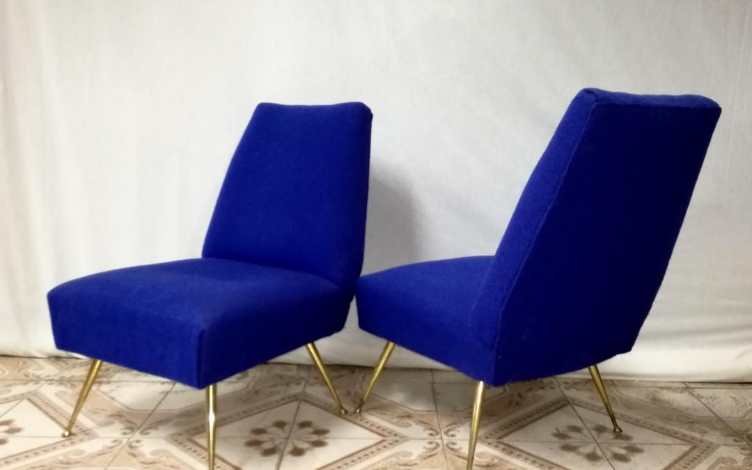 poltrone armchairs Sofa' design Gigi Radice per Minotti anni 50