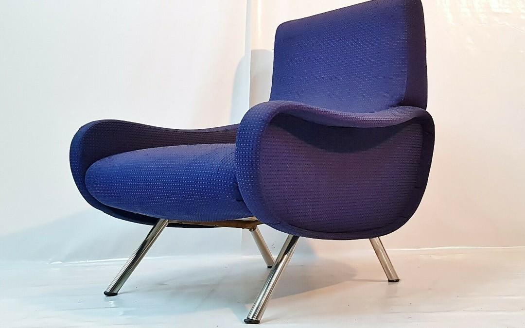 Poltrona, chair chaise design Lady Marco Zanuso per Arflex anni 60
